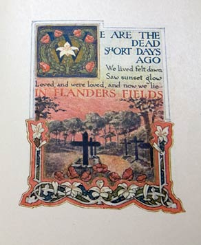 Flanders Fields illustrated