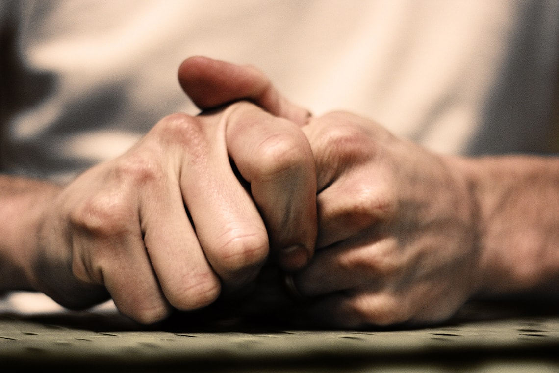 Stressed hands in a Flickr photo