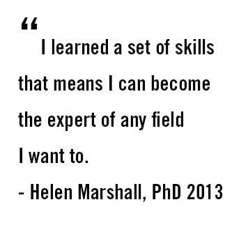 Helen Marshall pull quote