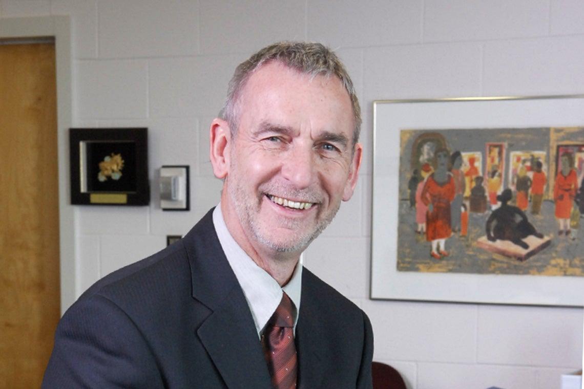 Portrait of Ian Orchard