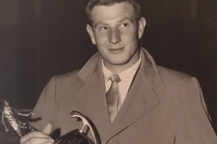 JM Beattie as a young man