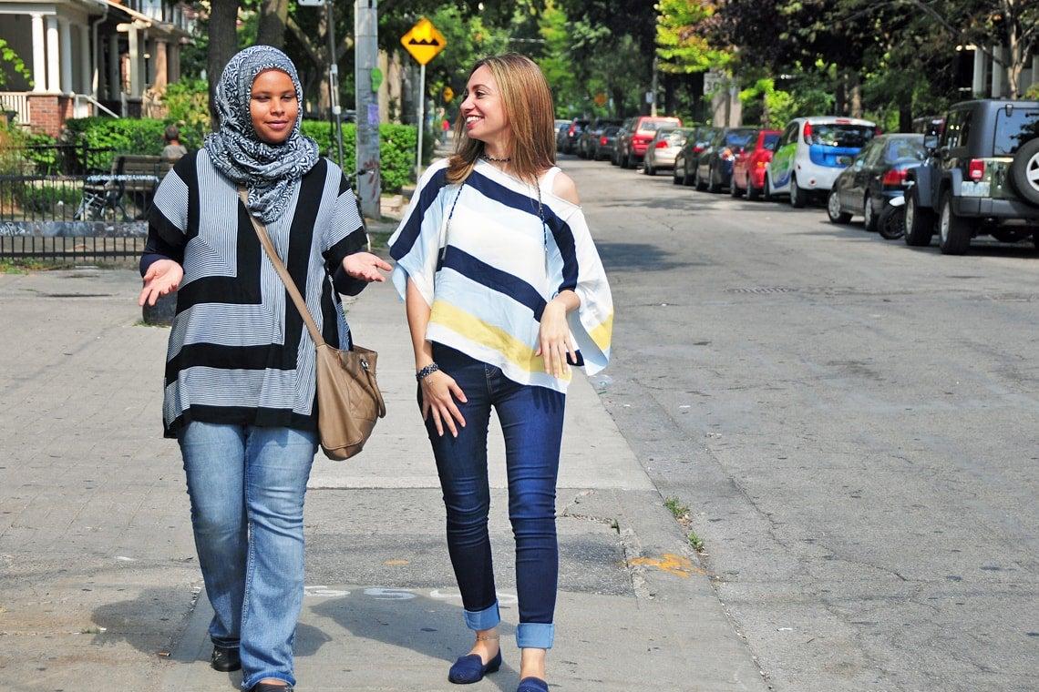 Karimah Gheddai and Shaimaa Atef