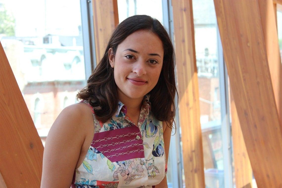 photo of Munk One student Nicoli Dos Santos