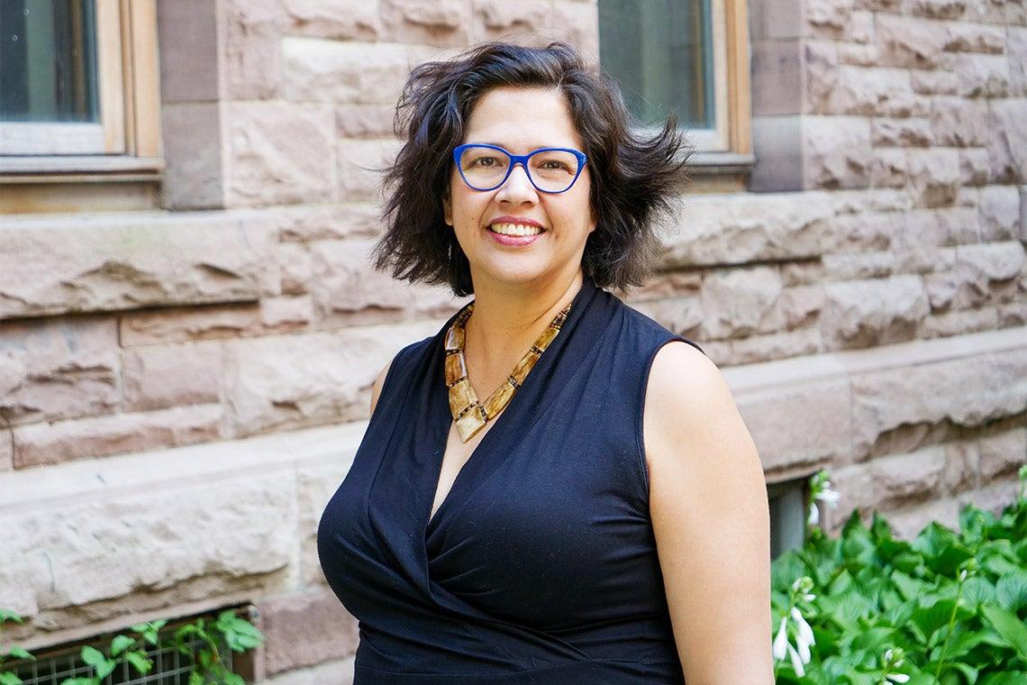 Portrait of Jennifer Wemigwans