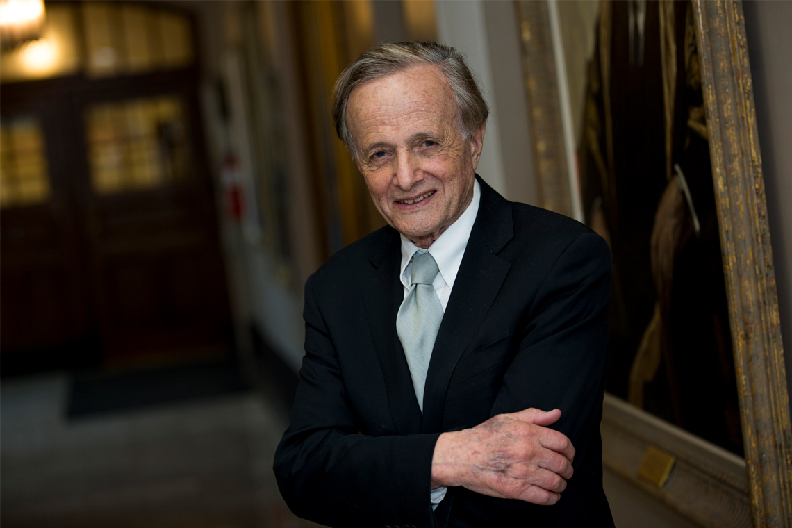 photo of John Polanyi