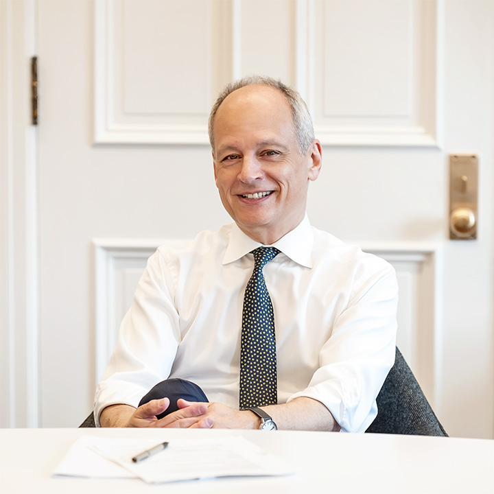 photo of President Meric Gertler