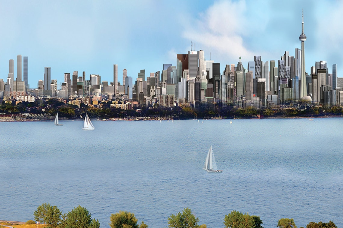 Photo of Toronto skyline in 50 years