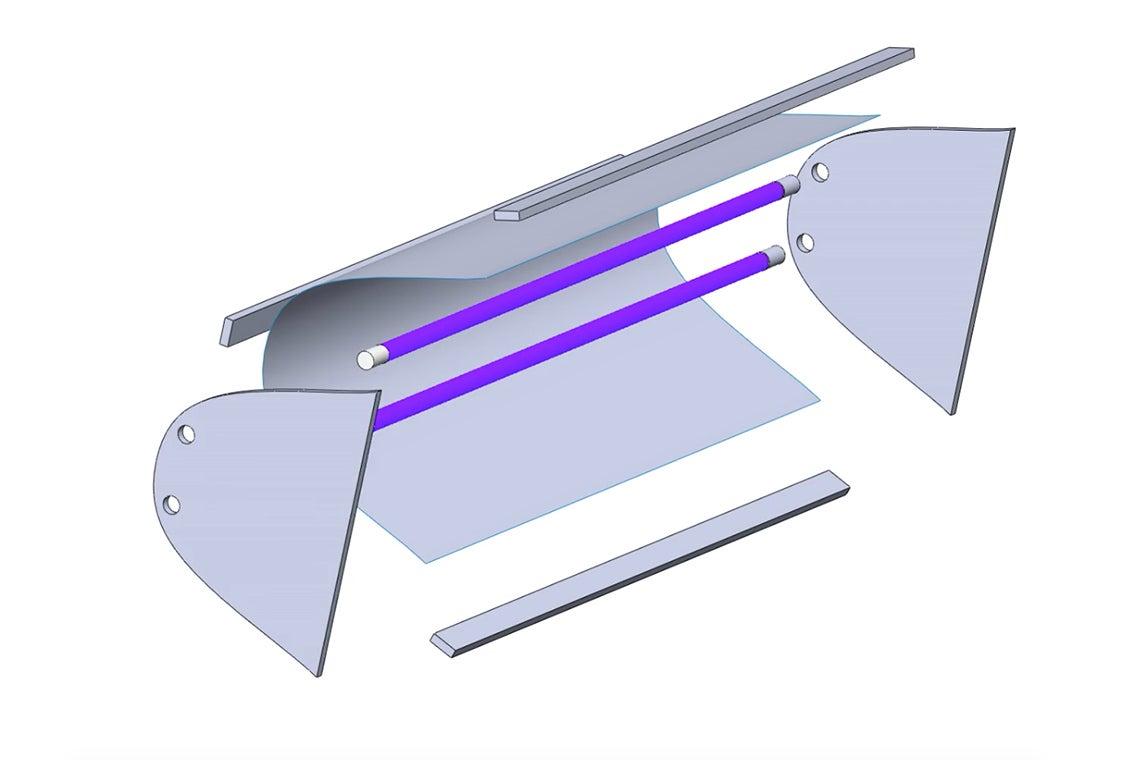 U of T Engineering students build smart, sterilizing UV lamp to fight COVID-19