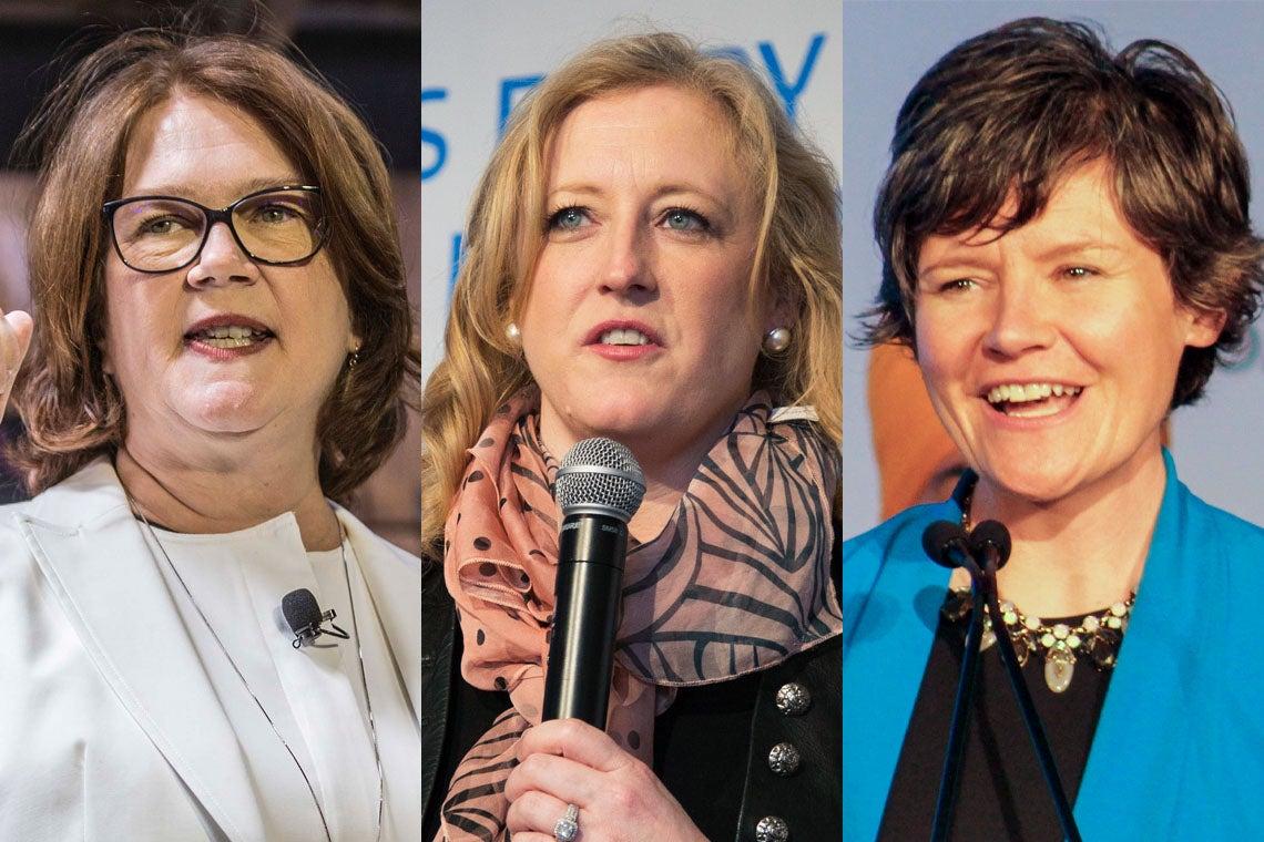 Jane Philpott, Lisa Raitt and Megan Leslie at U of T to talk 'modern leadership'