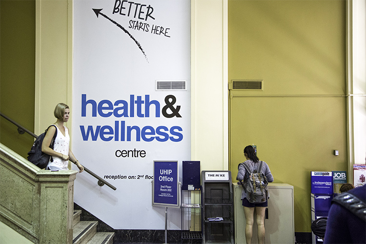 Health and Wellness centre at St George Campus