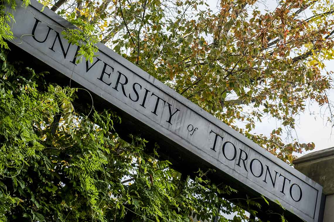 University of Toronto St George Campus Signage