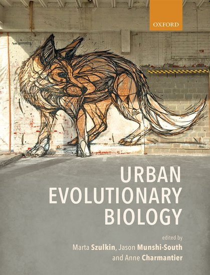 Cover of Urban evolutionary Biology