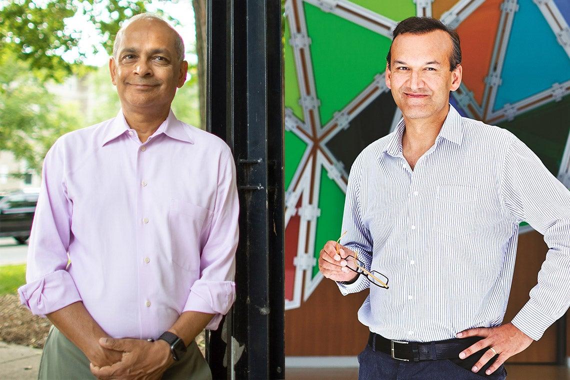 Vivek Goel and Prabhat Jha