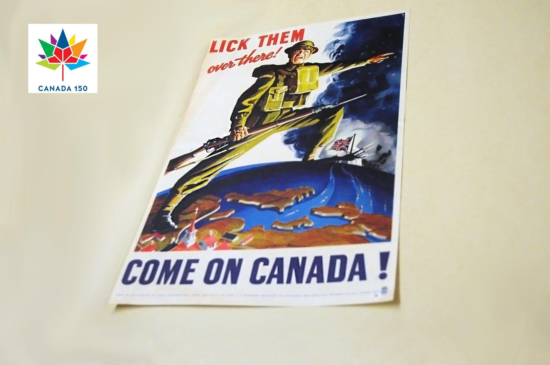 Second World War recruitment poster