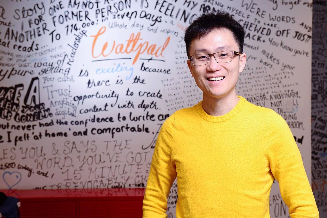 Allen Lau of Wattpad
