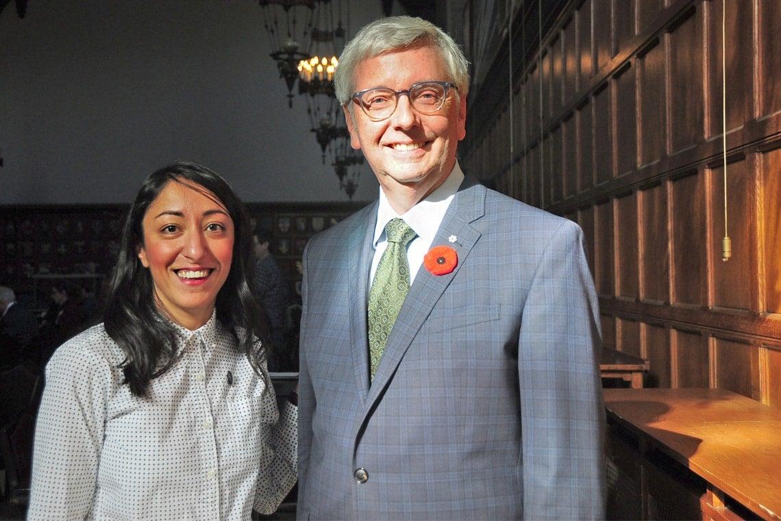 Zahra Ebrahim, Stephen Toope