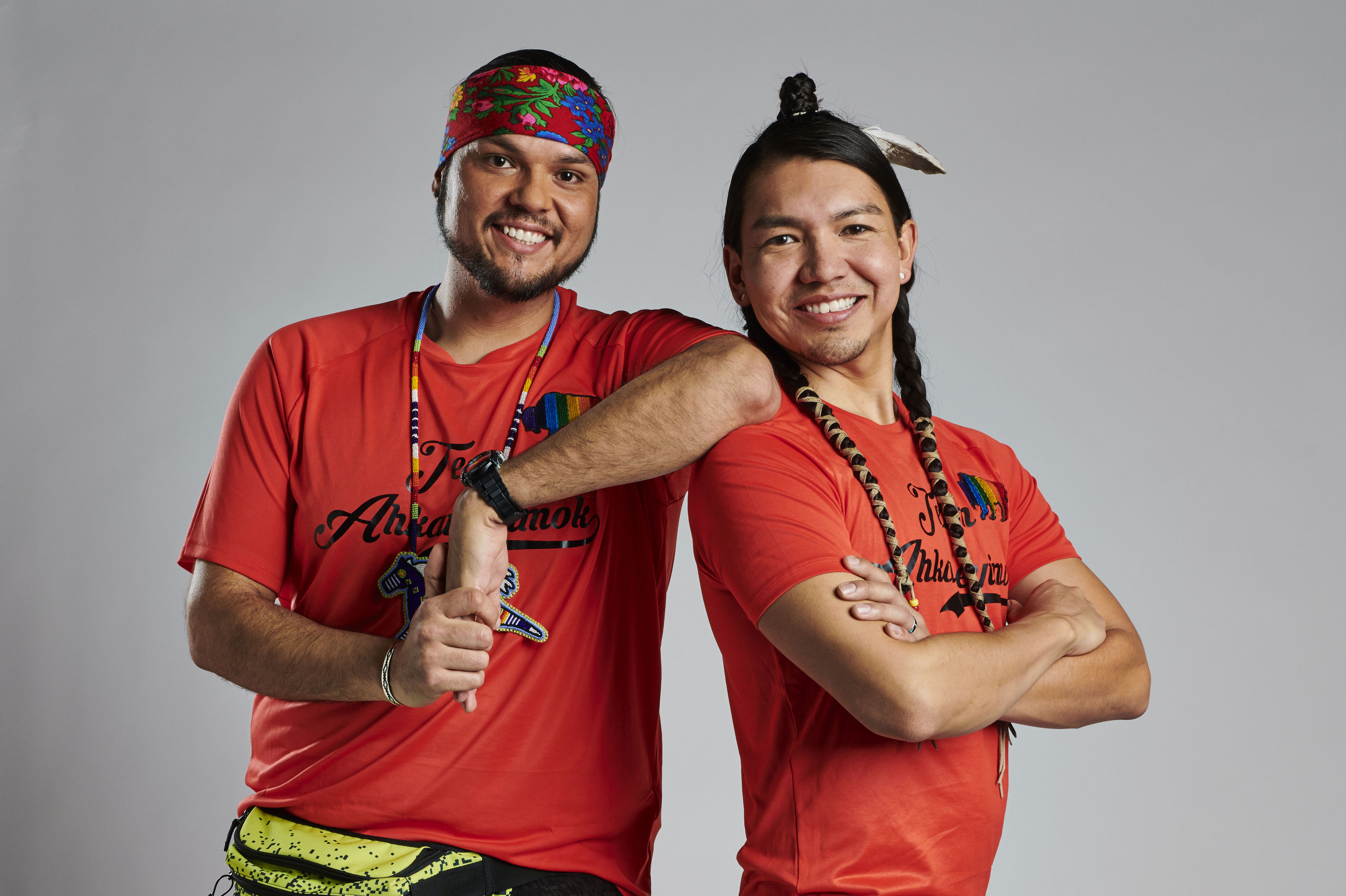 Anthony and James from Amazing Race Canada