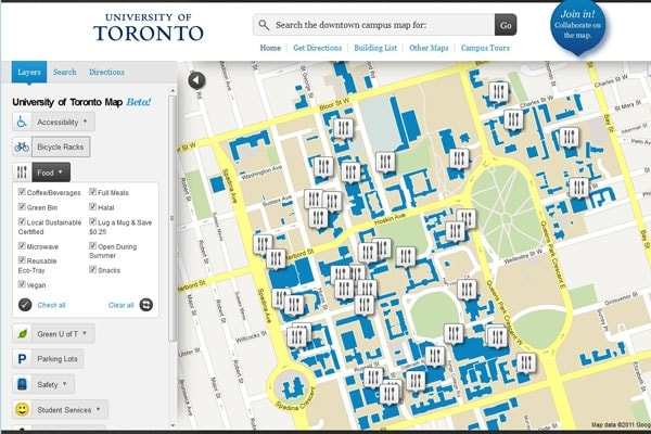 u of t campus map U Of T S New Online Map Makes Campus Easy To Navigate