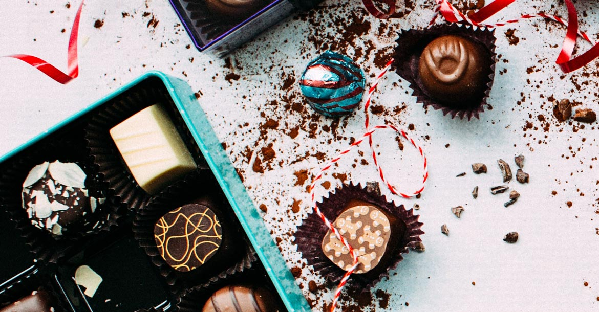This issue's lead article: All About Chocolate