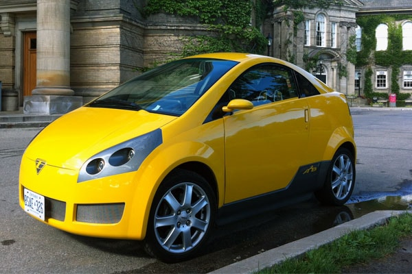 Canadian Made Electric Car Comes To U Of T