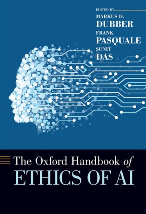Cover of Oxford Handbook of Ethics of AI