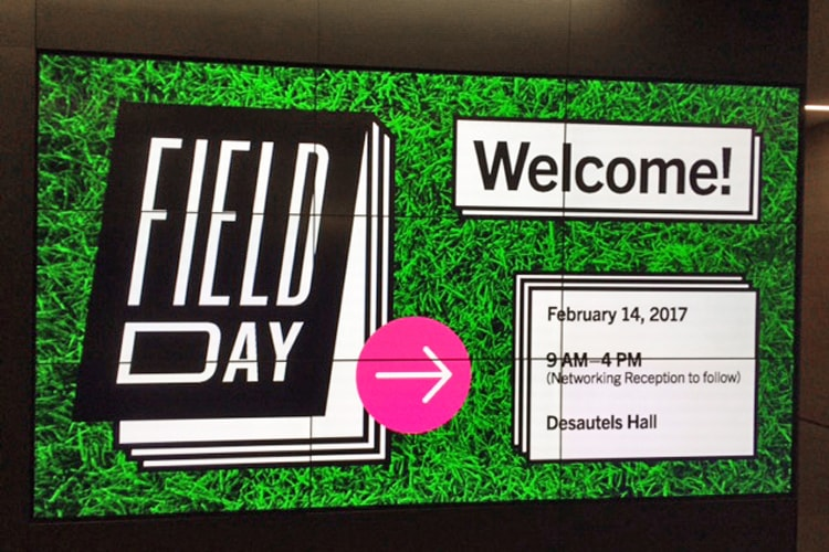 Field Day Sign