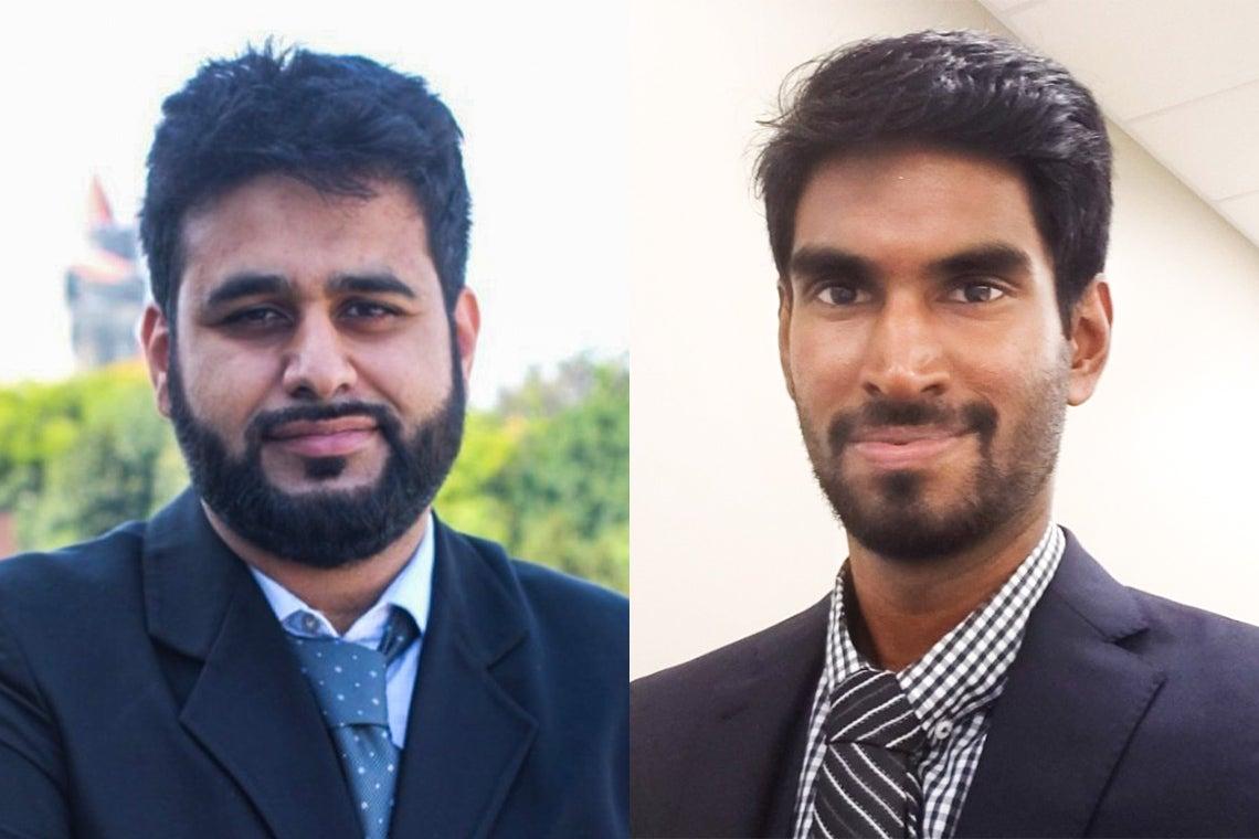 Bilal Habib and Jathiban (Jay) Panchalingam