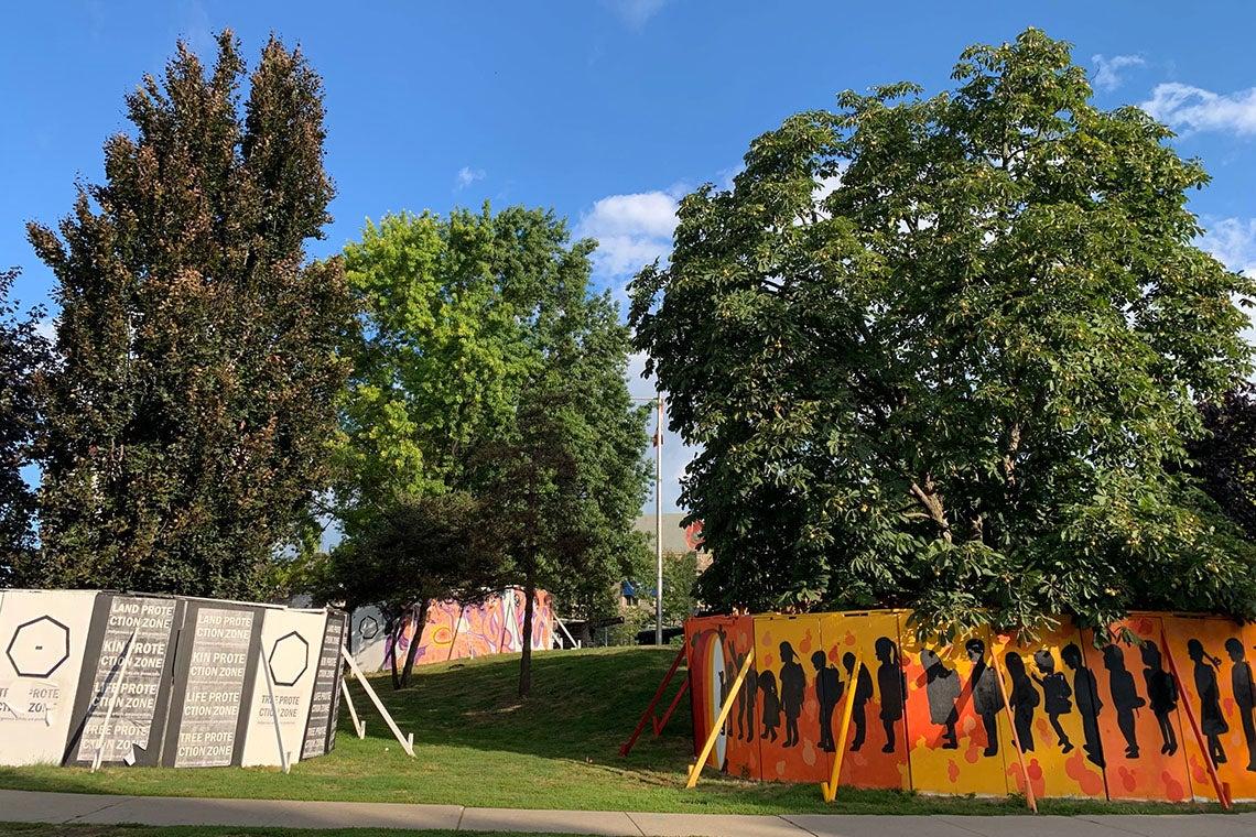 U of T unveils Indigenous public art installation at Hart House: Windspeaker