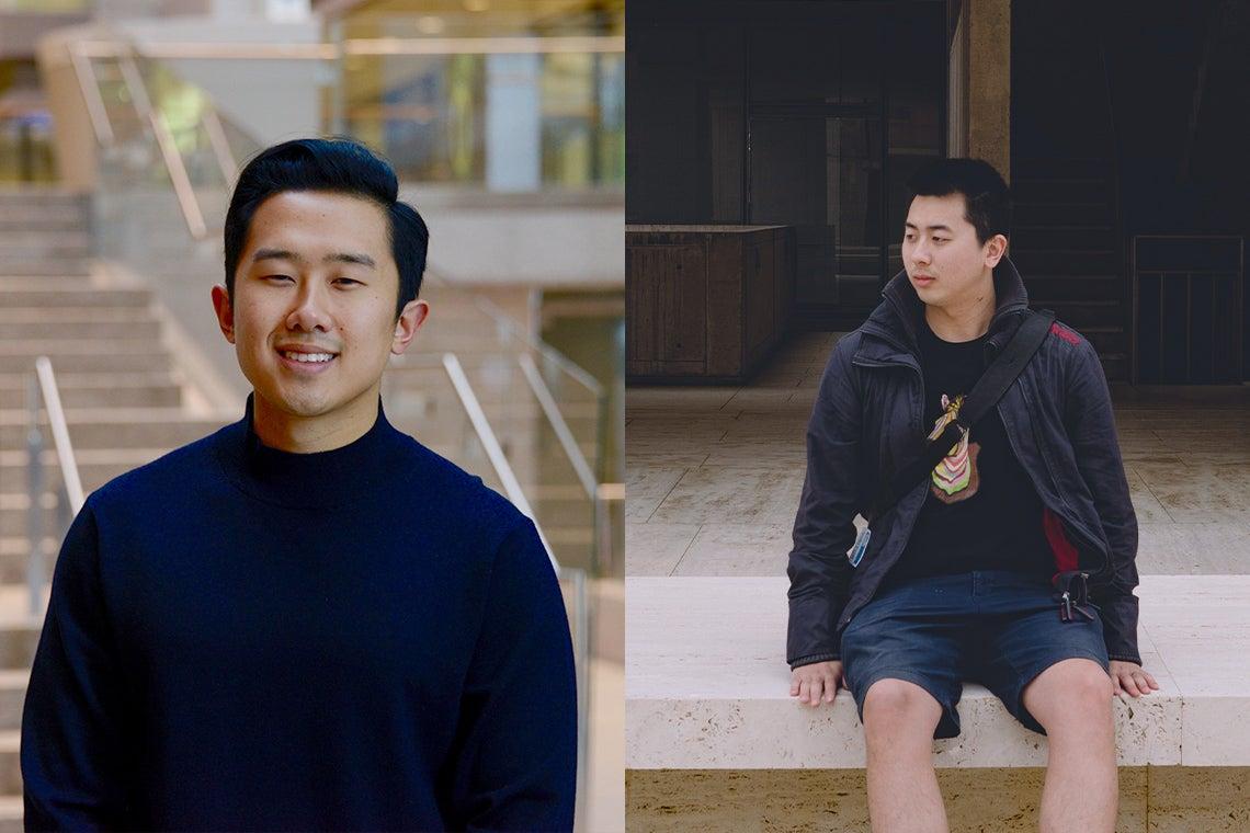 Kyle Wang and Zi Yang