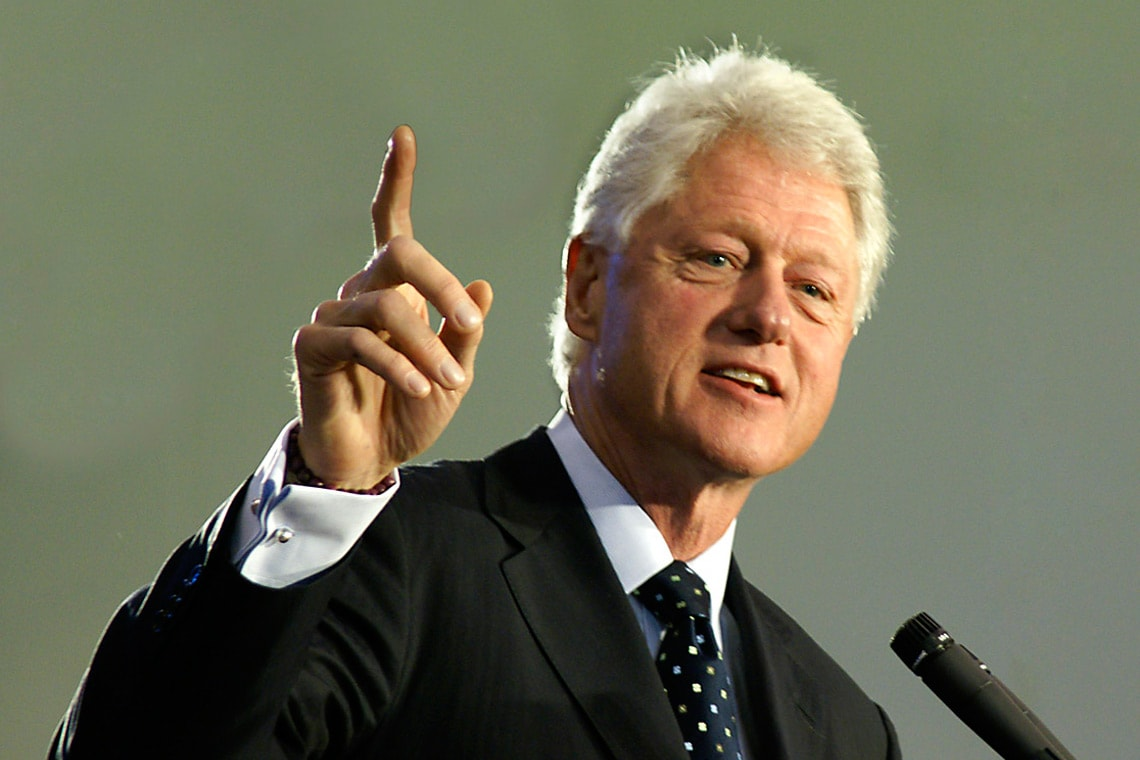 Photo of former U.S. President Bill Clinton