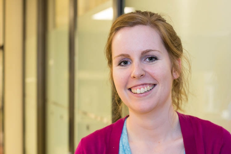Medical student Laura Burgess