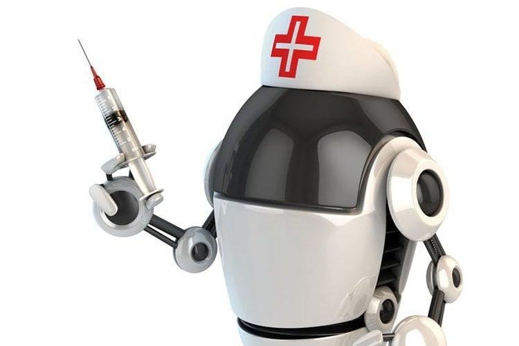 Photo of nursing robot