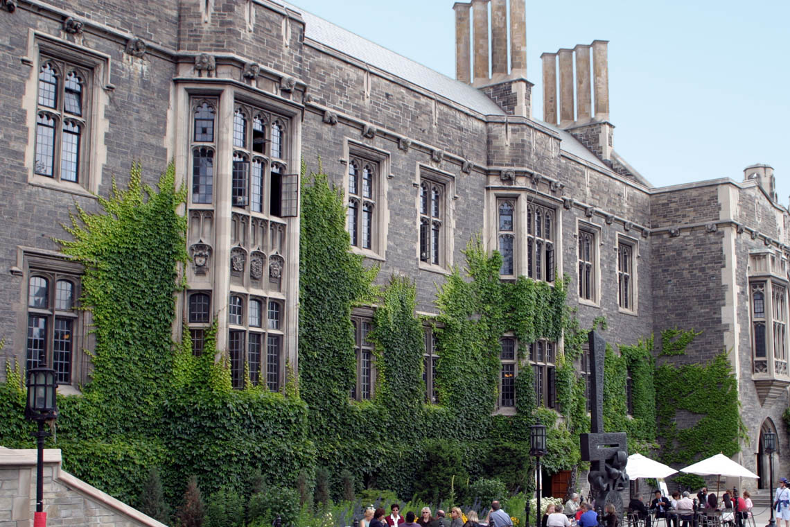 Photo of the exterior of Hart House