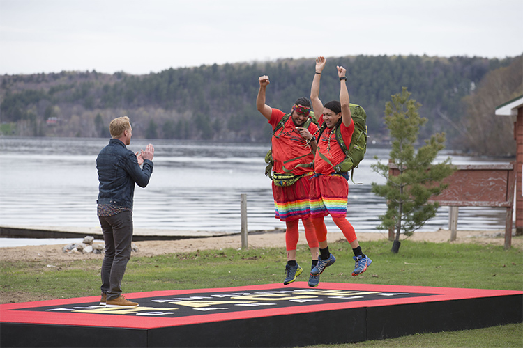 U of T alumnus and partner win The Amazing Race Canada, celebrate show's finale on campus