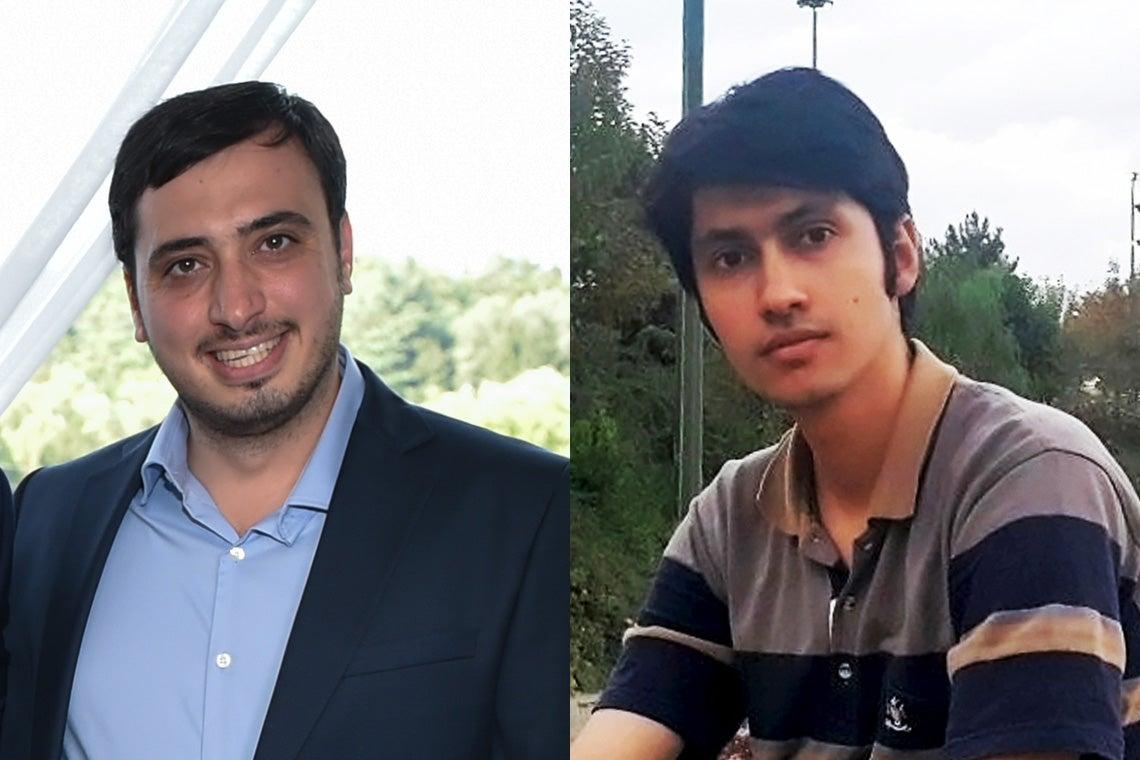 Photos of Mohammad Saleheh and Mohammad Amin Beiruti