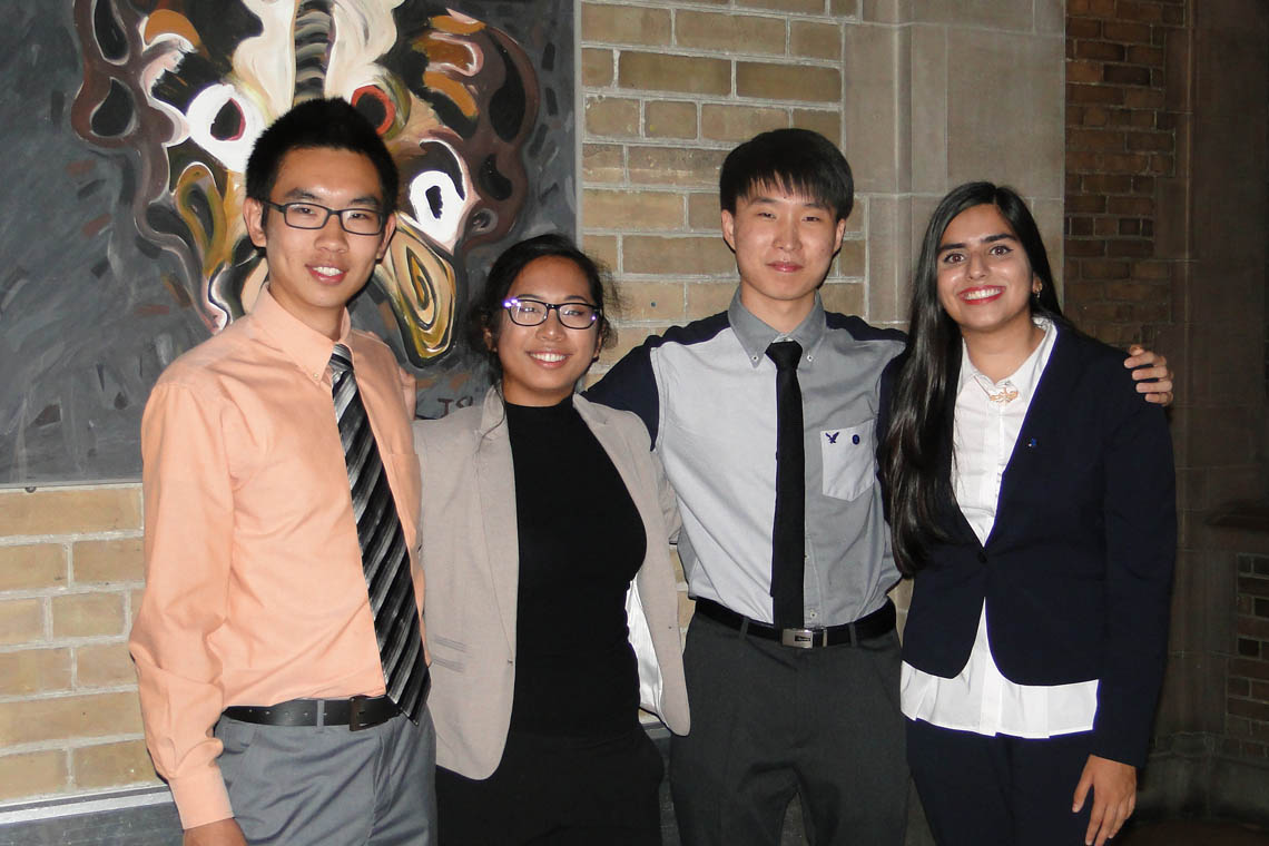 James Xu, Sabrina Cruz, Kevin Han, Haleema Khan