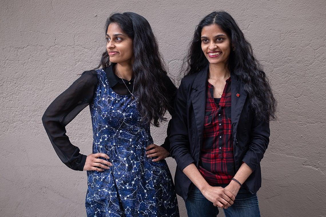 Mylabathula sisters