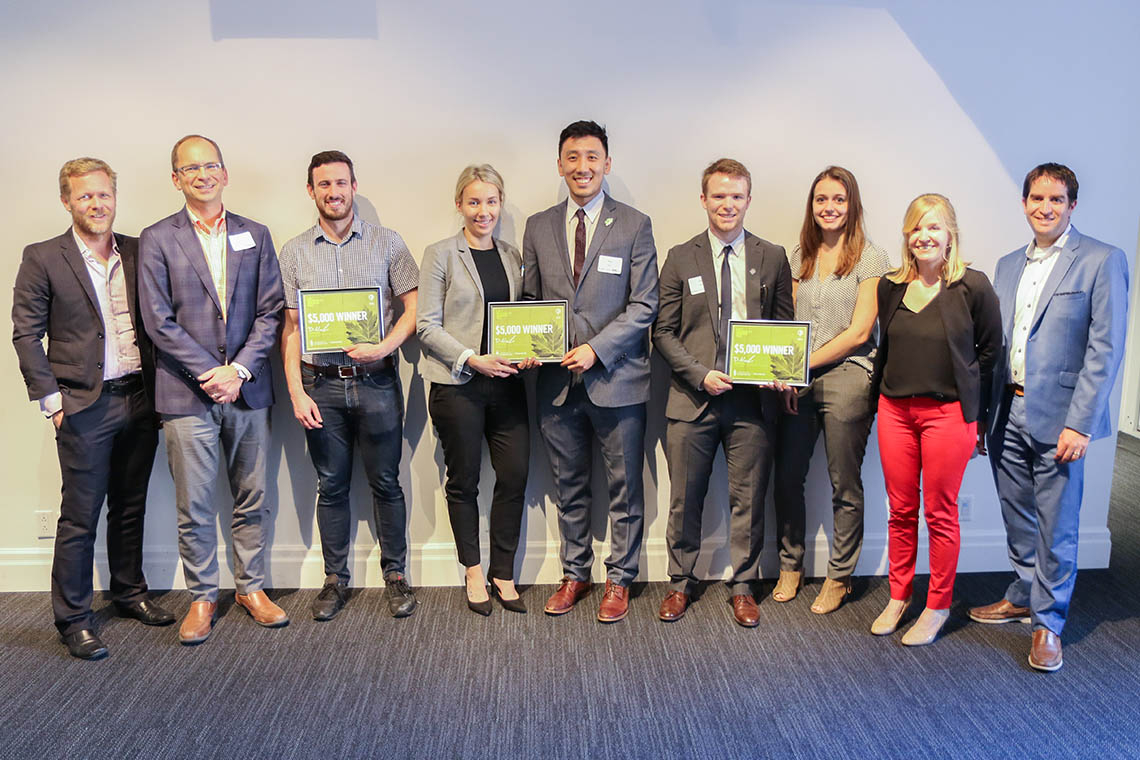 Photo of 2019 Sustainability Innovation Prize winners