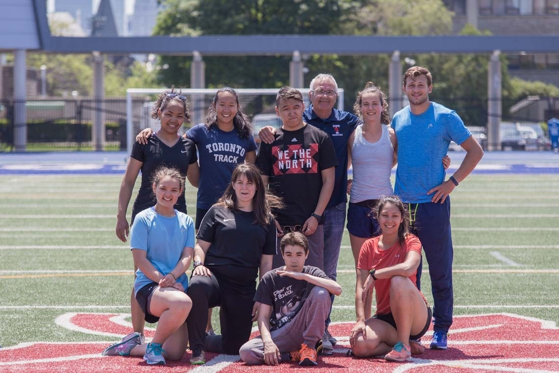 photo of Maggie MacDonnell with team