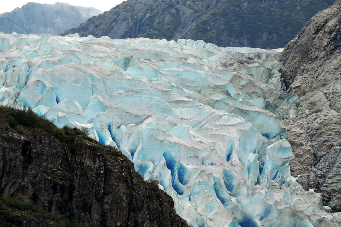 Photo of glacier in Alaska