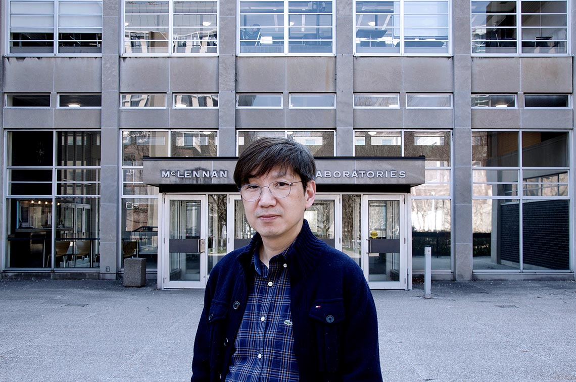 Photo of Professor Yong-Baek Kim