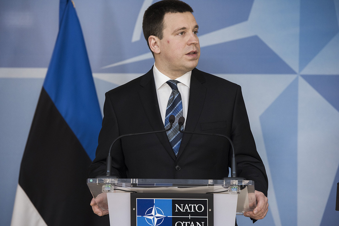 Photo of Estonia's prime minister