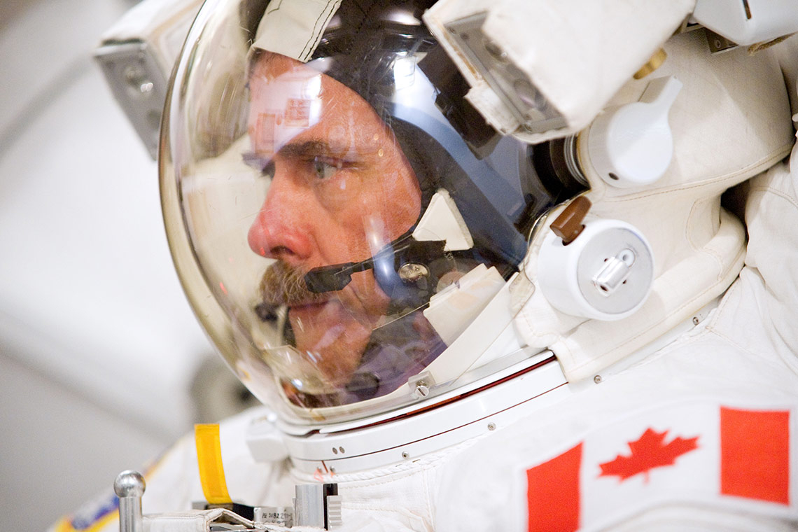 Photo of Chris Hadfield