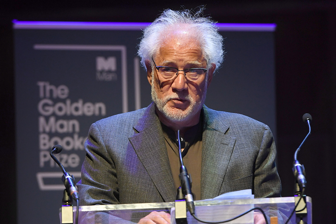 Photo of Michael Ondaatje in London
