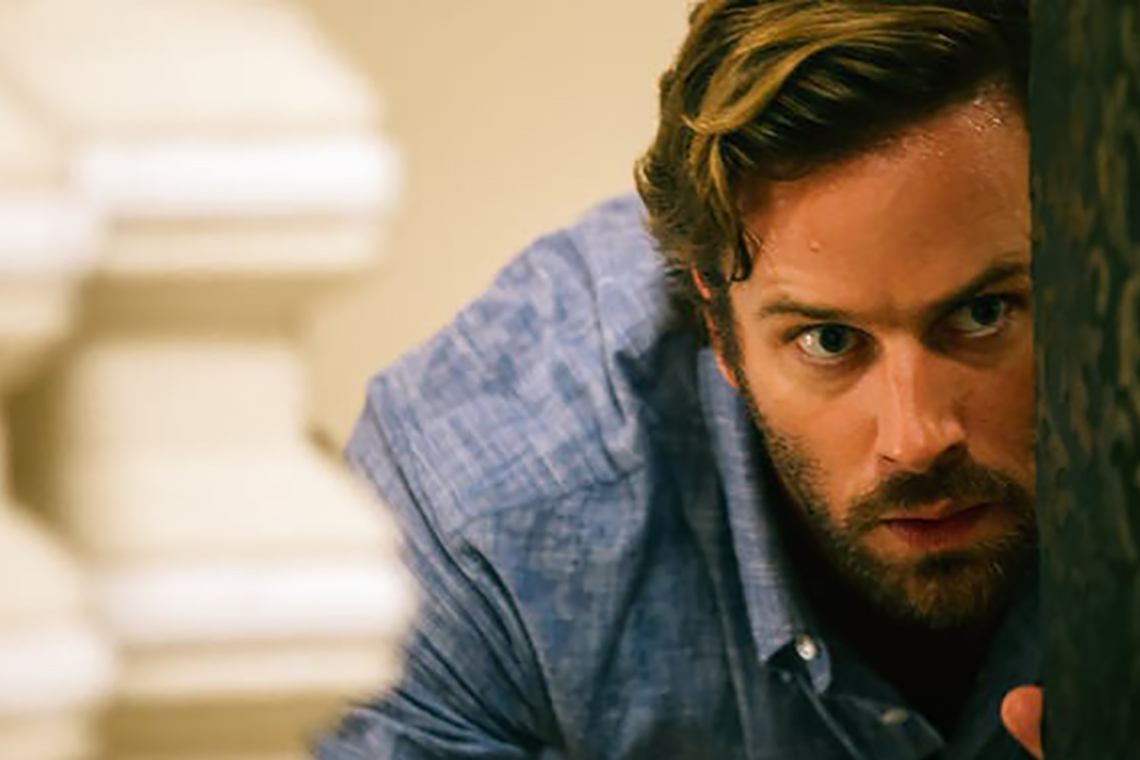 Photo of Armie Hammer in Hotel Mumbai
