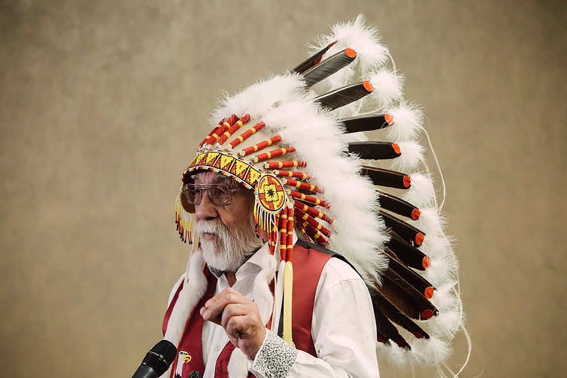 Photo of Chief Archie Waquan