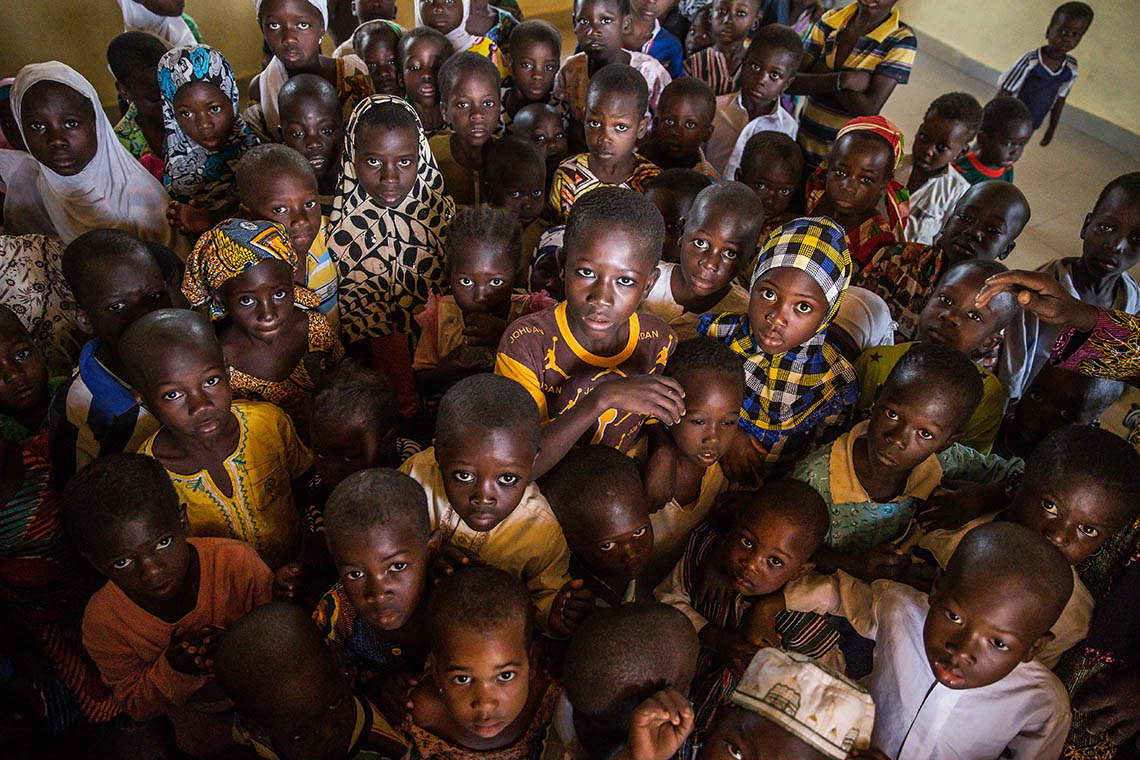 Photo of children in Ghana