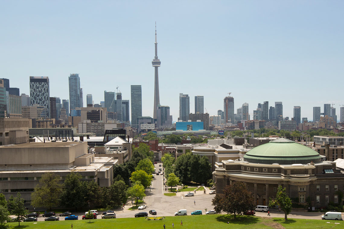 Photo of U of T in the city