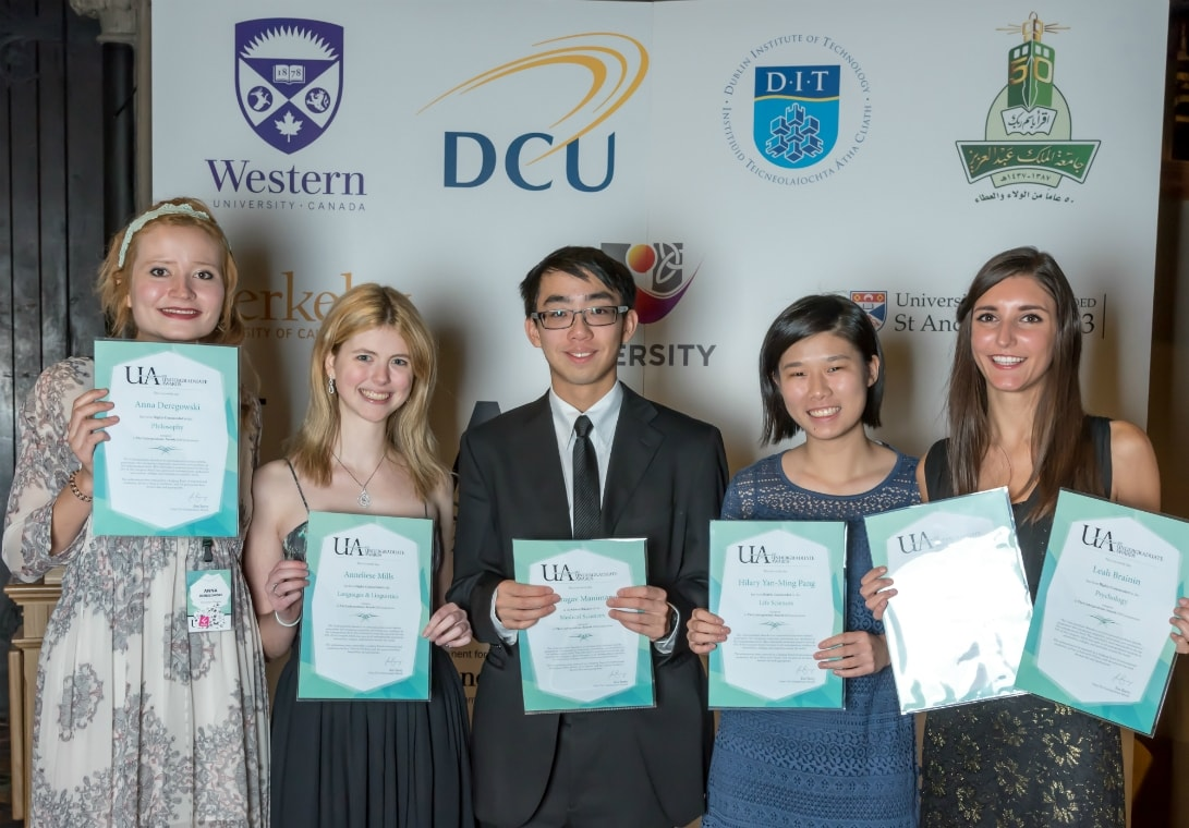 Photo of Undergraduate Awards recipients