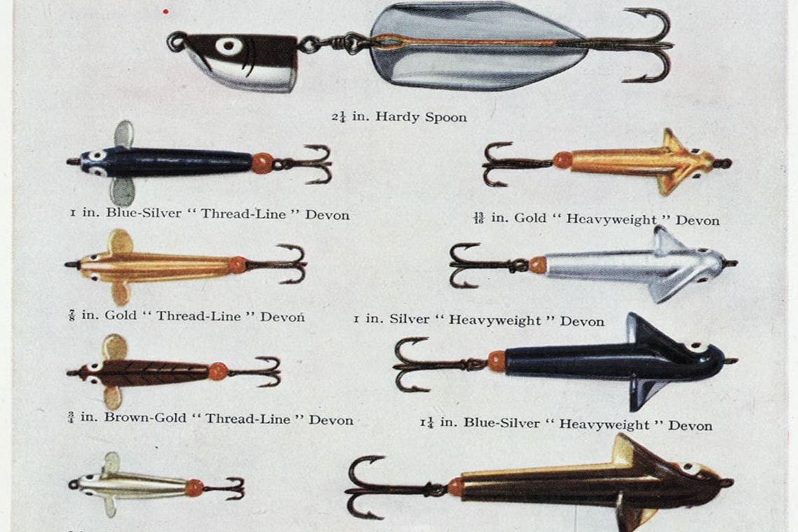 Photo of angling book diagram